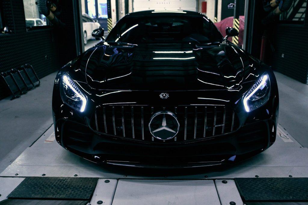 Чип тюнинг Mercedes AMG GTR M178 (V8 4.0 BiTurbo)