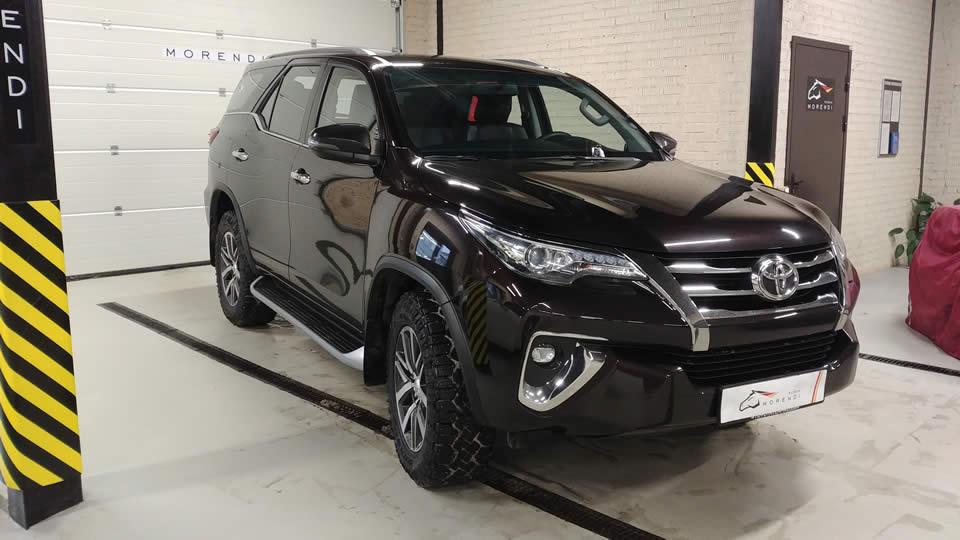 Чип тюнинг Toyota FORTUNER 2018 года.