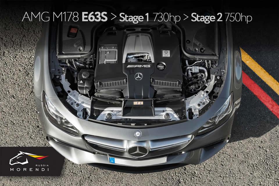 Чип тюнинг Mercedes-Benz AMG E63s W213