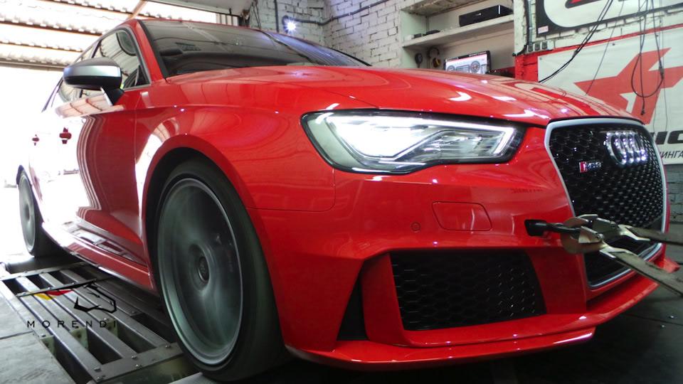 Audi RS3 Morendi Stage 2 — 500Hp / 650Nm