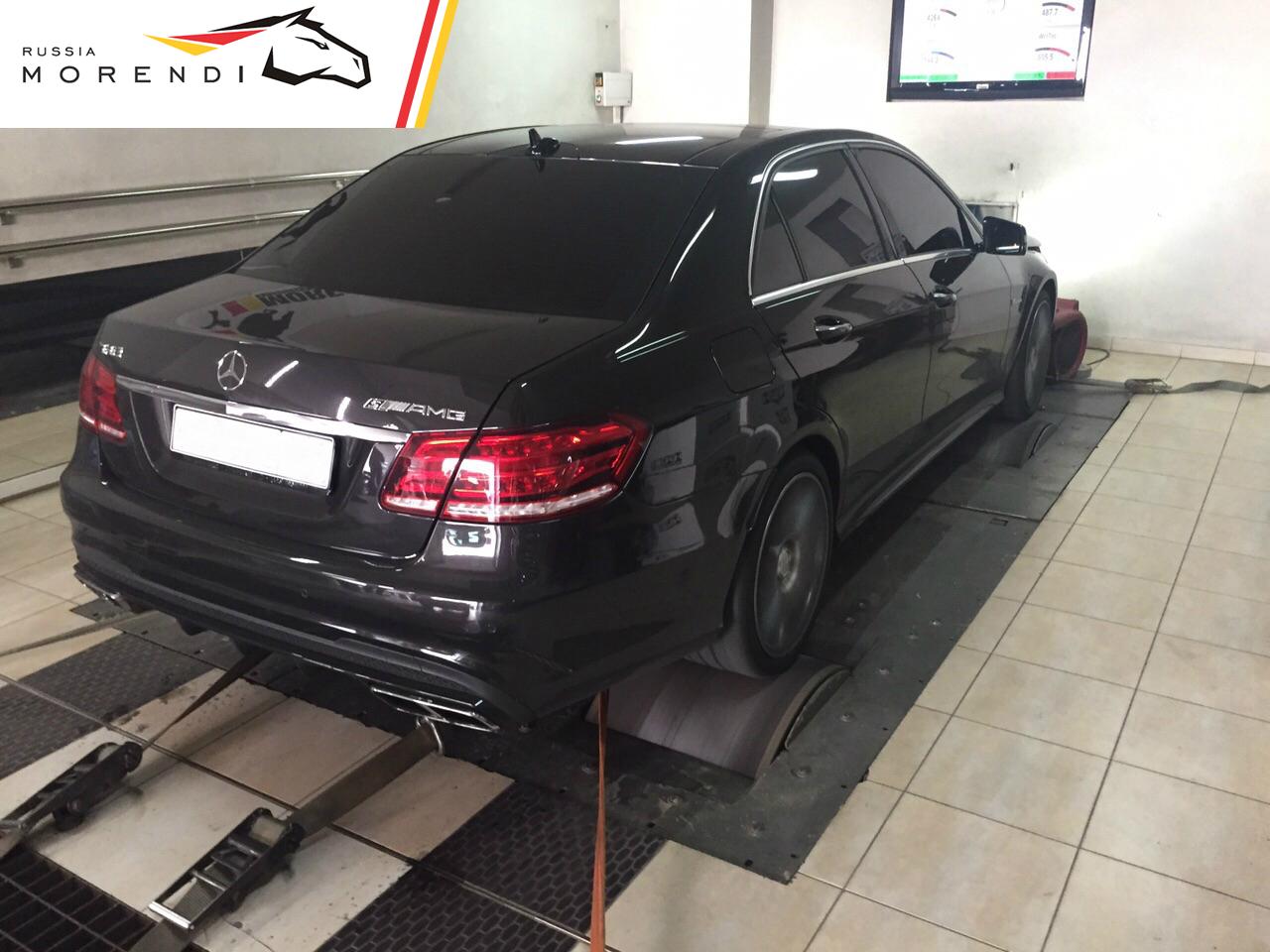 Чип-тюнинг Mercedes E63 AMG 4MATIC S