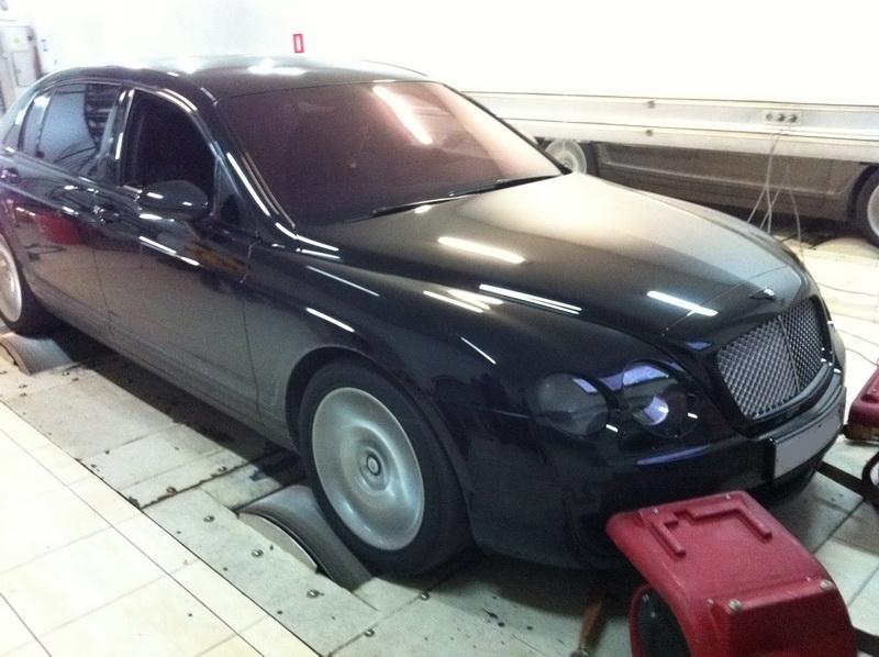 Bentley Continental GT +120лс +150Нм