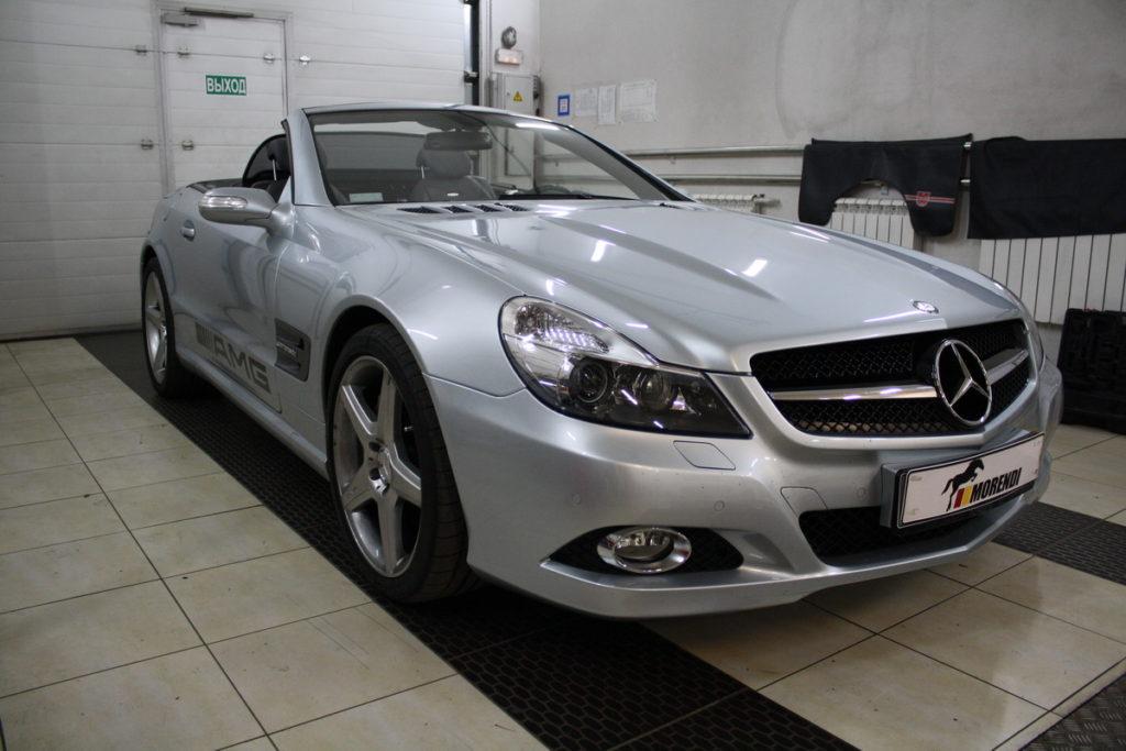 Mercedes Benz SL55 AMG теперь 630 лс и 850 Нм!!!