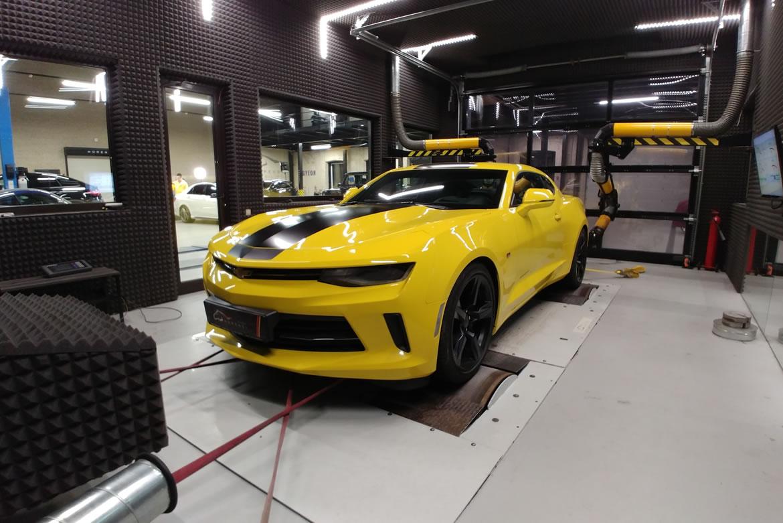 Яркой внешности дополнительная динамика - чип тюнинг Chevrolet Camaro 2.0T