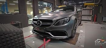 Mercedes C63 AMG S 4.0 (510 л.с.) W205 двигатель M177 V8 Biturbo - photo 10667