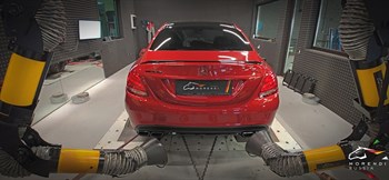 Mercedes C63 AMG S 4.0 (510 л.с.) W205 двигатель M177 V8 Biturbo - photo 10668