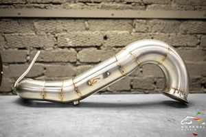 Даунпайп (Downpipe) 89мм MERCEDES CLA45 AMG - photo 11623