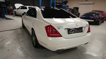 Mercedes S 500 (435 л.с.) W221 - photo 12387