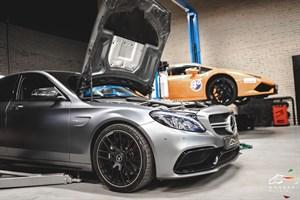 Mercedes C63 AMG S W205 4.0 (510 л.с.) двигатель M177 V8 Biturbo - photo 15308