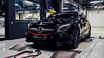 Mercedes GLA 45 AMG (381 л.с.) X156 двигатель M133 - photo 4582