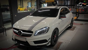 Mercedes A45 AMG (360 л.с.) W176 - photo 4604