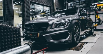 Mercedes CLA 45 AMG (360 л.с.) C117 двигатель M133 I4 Turbo - photo 4610