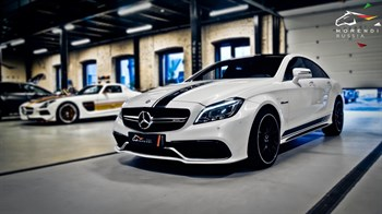 Mercedes CLS 63AMG (558 л.с.) W218 двигатель M157 V8 Biturbo - photo 4631