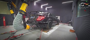 Mercedes C63 AMG Black Series (517 л.с.) W204 двигатель M156 V8 NA - photo 4649