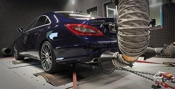 Mercedes CLS 550 (407 л.с.) W218 двигатель M278 V8 Biturbo - photo 4950