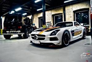 Mercedes SLS 6.2 V8 (571 л.с.) двигатель M159 V8 NA - photo 5042