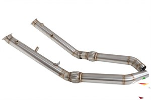 Даунпайп (Downpipe) 76мм MERCEDES ML 400-450