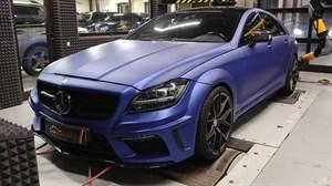 Mercedes CLS 63AMG S (585 л.с.) W218 двигатель M157 V8 Biturbo