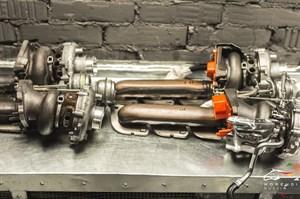 Высокопроизводительные турбины M600 (до 630лс) для Mercedes с двигателем M278 4.7L V8 BiTurbo