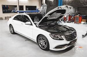 Mercedes S 450 (367 л.с.) W217/222 engine M256