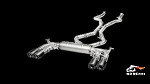 AKRAPOVIC Evolution Line (Titanium) BMW X5 M (F85) 2018