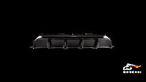Rear Carbon Fiber Diffuser AKRAPOVIC - High Gloss AKRAPOVIC for BMW F90 M5