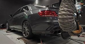 Настройка на мощностном стенде Mercedes E63 W212 Morendi Stage2