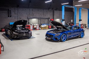 Mercedes AMG GTS (522 л.с.)