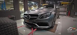 Mercedes C63 AMG S 4.0 (510 л.с.) W205 двигатель M177 V8 Biturbo