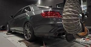 Mercedes E 63 S AMG (585 л.с.) кузов W212 двигатель M157 V8 BiTurbo